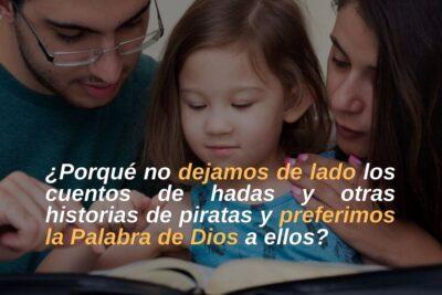 5 buenas razones para leer la Biblia con tus hijos