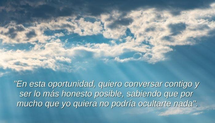 quiero hablar con Dios