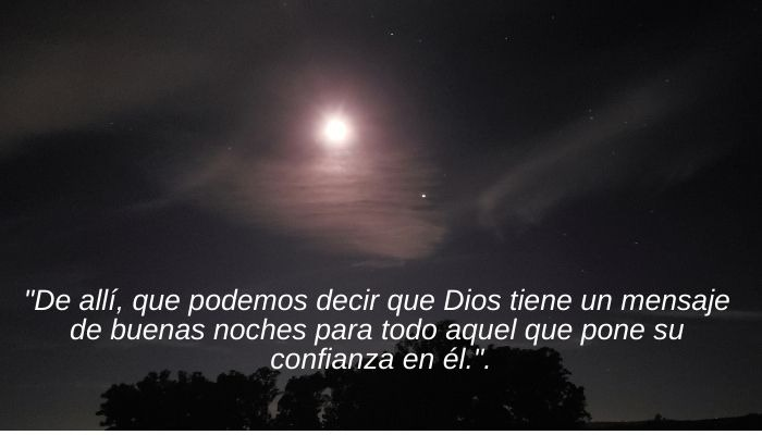Mensaje de Dios Buenas Noches
