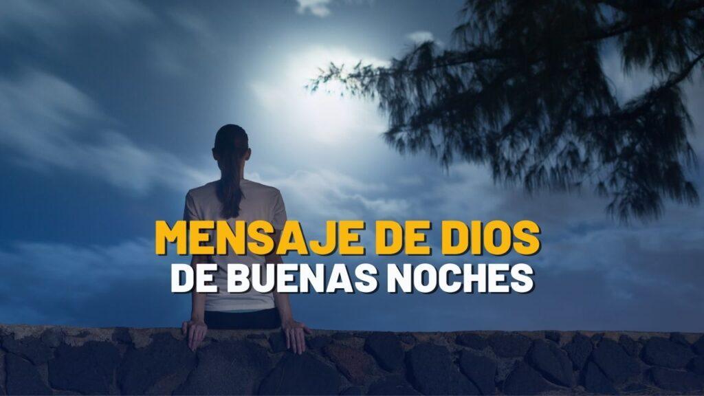 Mensaje de Dios de Buenas Noches